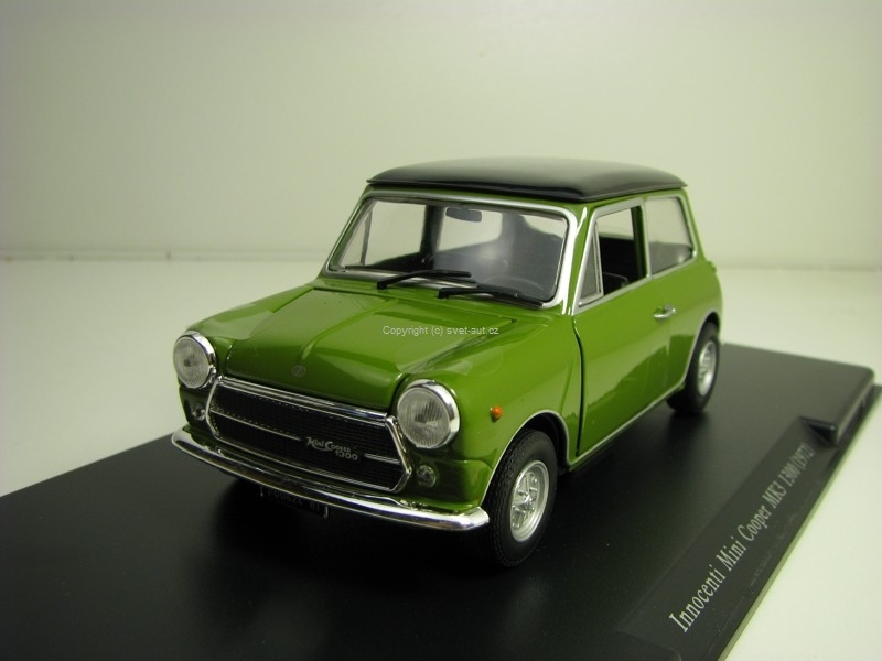 Mini Cooper MK3 1300 Innocenti 1972 Green 1:24 Leo Models